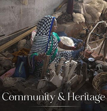 Heritage is at the very heart of Marwar. Our weavers belong...